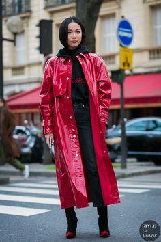 Street Style 2017, Street Chic, Street Styles, Yoyo Cao, Red Fashion, ddef41bbda