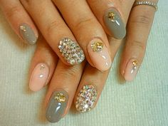 Love the different nail designs