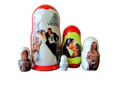 Matryoshka My Big Fat Greek Wedding. 5 Piece Nesting от bessershop