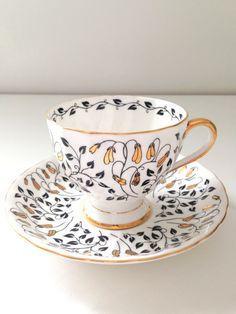 Vintage English Bone China Tuscan Tea Cup and Saucer Tea Party Wedding Gift Inspiration