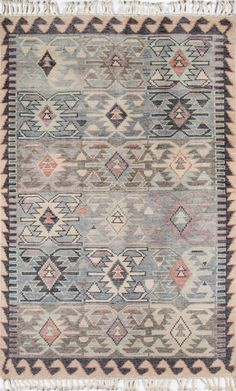 The Odyssey area rug is a blue, hand knotted kilim/tribal rug. Made of Wool By Wovenly Rugs. Room Rugs, Rugs In Living Room, Dining Rooms, Living Spaces, Wool Area Rugs, Blue Area Rugs, Blue Rugs, Decorative Borders, Tribal Rug