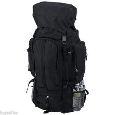 NEW Extreme Pak Black Water Repellent Heavy-Duty Mountaineers Backpack find more items like this at http://stores.ebay.com/DDs-Pokemon-Card-and-Gift-Shop?_trksid=p2047675.l2563 visit and like us on facebook here www.facebook.com/pages/DDs-Gift-Shop/113955198649056