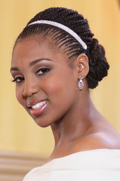 Natural Hair Styles. Follow us @SIGNATUREBRIDE on Twitter and on FACEBOOK @ SIGNATURE BRIDE MAGAZINE