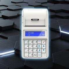 Posnet Mobile HS EJ - kasa fiskalna o małych gabarytach, a właściwie najmniejsza i najlżejsza kasa fiskalna na polskim rynku. Waży mniej niż 400 g i doskonale leży w dłoni.