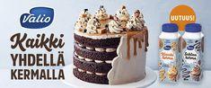 Voitaikina | Reseptit | Kinuskikissa Vanilla Yogurt, Vanilla Flavoring, Oreo Biscuits, Cheesecake, Cooking Measurements, Christmas Gingerbread House, Lemon Curd, Dessert Recipes, Pastries