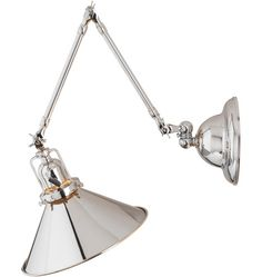 Reed Industrial Swing-Arm Wall Sconce. #Rejuvenation.