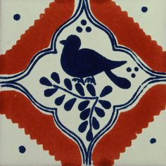 Traditional Mexican Tile - Pajaro Colonial