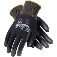 PIP Work Gloves on sale at Full Source! Order the PIP G-Tek GP Heavyweight Seamless Knit Nylon Gloves - Extra Thick Polyurethane Coated Smooth Grip online or call