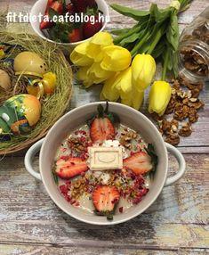 Répatortás húsvéti zabkása Acai Bowl, Breakfast, Food, Acai Berry Bowl, Morning Coffee, Essen, Meals, Yemek, Eten