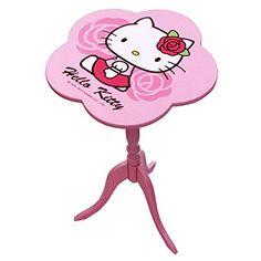 Hello Kitty Flower Frame Round End Table Wood Pink Rose Sanrio, http://www.amazon.com/dp/B012M9J98K/ref=cm_sw_r_pi_awdm_x_9q6VxbE348HFB