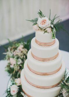 Deko zur Hochzeit in Weiß