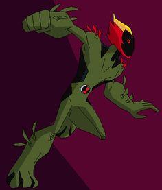 Albedo as by on DeviantArt Ben 10 Comics, Ben 10 Ultimate Alien, Ben Tennyson, Ben 10 Omniverse, Aliens, Black Canary, Haikyuu, Cartoon, Monsters
