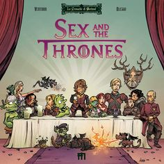 """""""Sex And The Thrones"""", ManFont Comics. Alessi: illustration and colors http://www.manfont.com/prodotto/le-cronache-di-gorlond-sex-and-the-thrones/"""