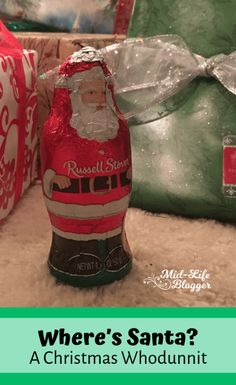 Where's Santa? ~ A Christmas Whodunnit Inspirational Blogs, Thing 1, Set Apart, Christian Marriage, Life Advice, Christian Inspiration, Family Kids, Mom Blogs, Christmas Traditions