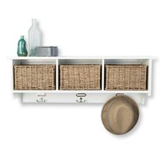 Threshold™ Wall Organizer with Baskets - White : Target