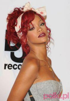 Rihanna - modne opaski do włosów #polkipl