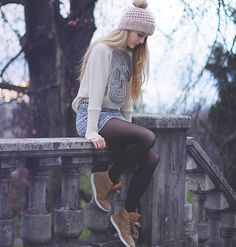 ON THE EDGE (by TIPHAINE  P) http://lookbook.nu/look/4479689-Romwe-Skull-Sweater-Sandro-Sneakers-On-The-Edge
