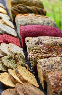 Panes de diferentes sabores