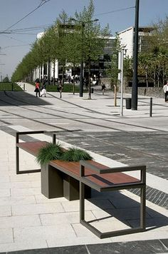 New products and trends in architecture and design Parks Furniture, Iron Furniture, Street Furniture, City Furniture, Industrial Furniture, Garden Furniture, Furniture Design, Furniture Removal, Furniture Movers