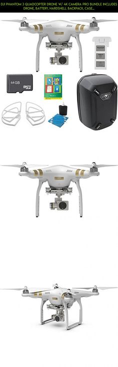 DJI Phantom 3 Professional Quadcopter Drone with 4K UHD Video ...