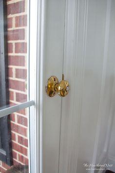Hometalk :: Painting Door Knobs