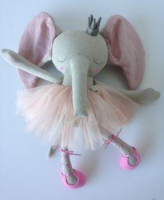 Handmade Elliott Princess Ballerina Heirloom Doll made by Peanut&Elliott
