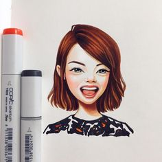 Russian Artist Draws Chic Portraitscartoons Of Celebrities - Russian artist draws amazing cartoon versions of famous celebrities