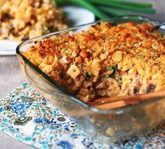 Amerikaanse macaroni and cheese, maar dan wel een versie die ver van de oranje poeder-uit-een-pakje van Kraft staat. Met echte kaas, smaakvol, romig met een...