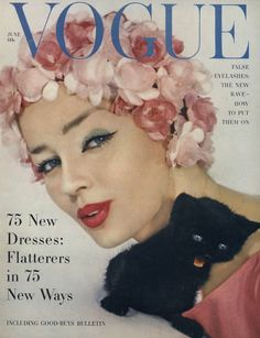 Dolores Hawkins  Photographed by Jerry Schatzberg, Vogue, June 1, 1958