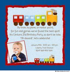 Train invite