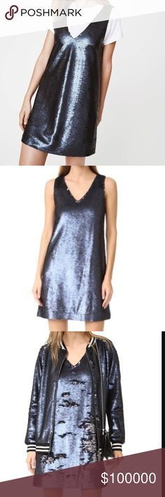 "✨COMING SOON✨REBECCA MINKOFF Claire Dress Just in time for the Holidays! 🎄 The Claire Sequin Dress by Rebecca Minkoff is to die for! Spice up your street style or wear it to your next cocktail party. This dress can't go wrong! Limited quantities available.  Please ""like"" this listing to be notified upon arrival 😊 Rebecca Minkoff Dresses Mini"