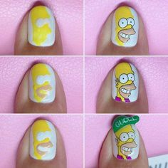 """Determine even more details on """"nail paint ideas polish easy"""". Look into our internet site. Nail Art Hacks, Gel Nail Art, Gel Nails, Acrylic Nails, Minimalist Nails, Nail Swag, Nagel Bling, Nail Art Techniques, Diy Nail Designs"""