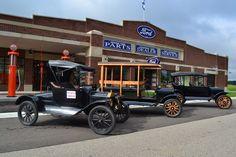 Model T Driving School - Gilmore Car Museum, Hickory Corners, Michigan