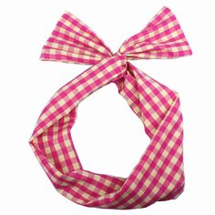 BTArtbox NEW ARRIVAL Girls Ladies Winnter Style Twist Bow Wired Headbands Scarf Wrap Hair Accessory Yellow Pink -6 >>> Continue to the product at the image link.