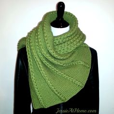 Dropped And Found Shawl By Jessie Rayot - Free Knitted Pattern - (ravelry)