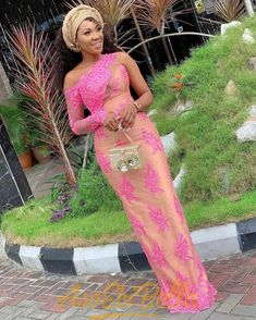 76 Edition Of – Aso Ebi Lace and African Print Outfits To look Super Beautiful & Trendy Africanstylesforladies - African Styles for Ladies Nigerian Lace Dress, Nigerian Lace Styles, Aso Ebi Lace Styles, Nigerian Outfits, African Lace Styles, African Lace Dresses, Ankara Styles, Nigerian Fashion, Ankara Designs