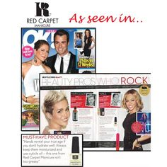 """""""Be sure to check out the February 9th issue of OK! Weekly featuring one of our favorite celebrity manicurists Lisa Logan! Lisa is named one of their…"""" #RCMnailit #RCMAwardSeason"""