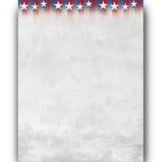 a64b1ed846b5 Stars of Honor Letterhead Stationery Patriotic computer paper perfect for  recipes