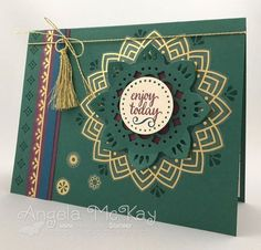 Stampin' Up! Eastern Palace Suite handmade card
