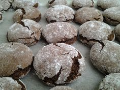 Crinkles, Biscuits, Cookies, Chocolate, Cake, Christmas, Blog, Foods, Decoration