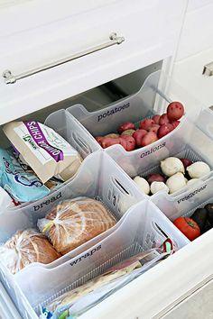 Compartimento para verduras