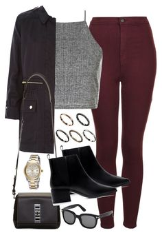 """Untitled #1073"" by loveeleanorfashion ❤ liked on Polyvore featuring Topshop, Boohoo, River Island, Zara, Proenza Schouler, Tom Ford and ASOS"