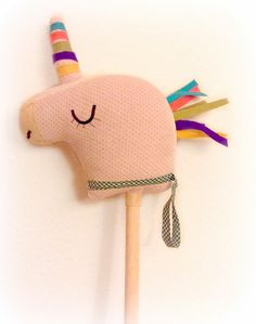 DIY Unicorn On A Stick