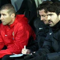 FC Panthrakikos bench..