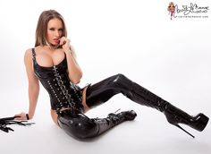 "carrielachance: "" Like my new latex outfit? New photo set just posted on my…"