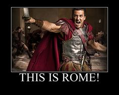 This is Rome. Craig Parker by NatalyRahl on DeviantArt