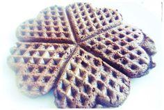 waffles farinha alfarroba