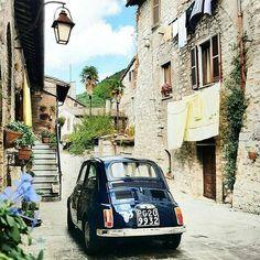 Fiat 500 in Italy.