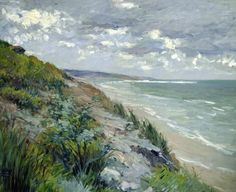 Gustave Caillebotte: Cliffs By The Sea At Trouville