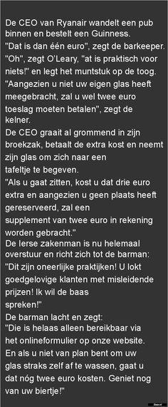 De CEO van Ryanair |